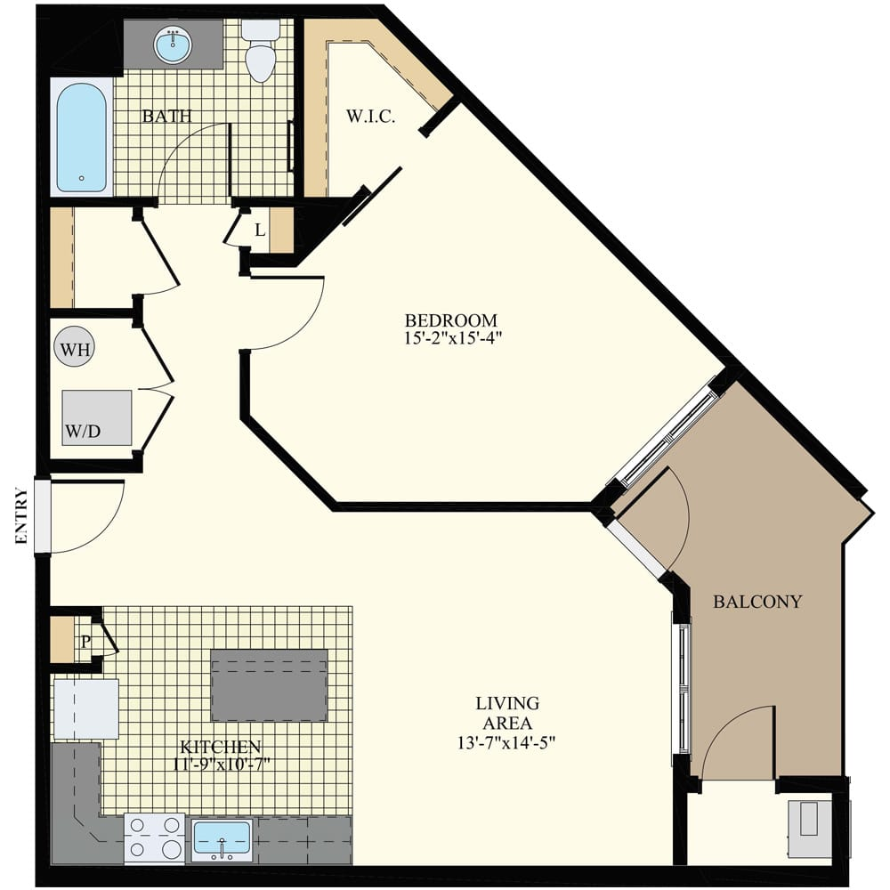 Station at Willow Grove 1 Bedroom Apartment A10