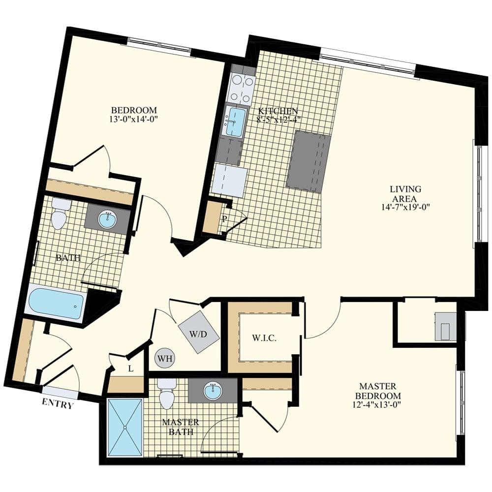 Station at Willow Grove 2 Bedroom Apartment B19