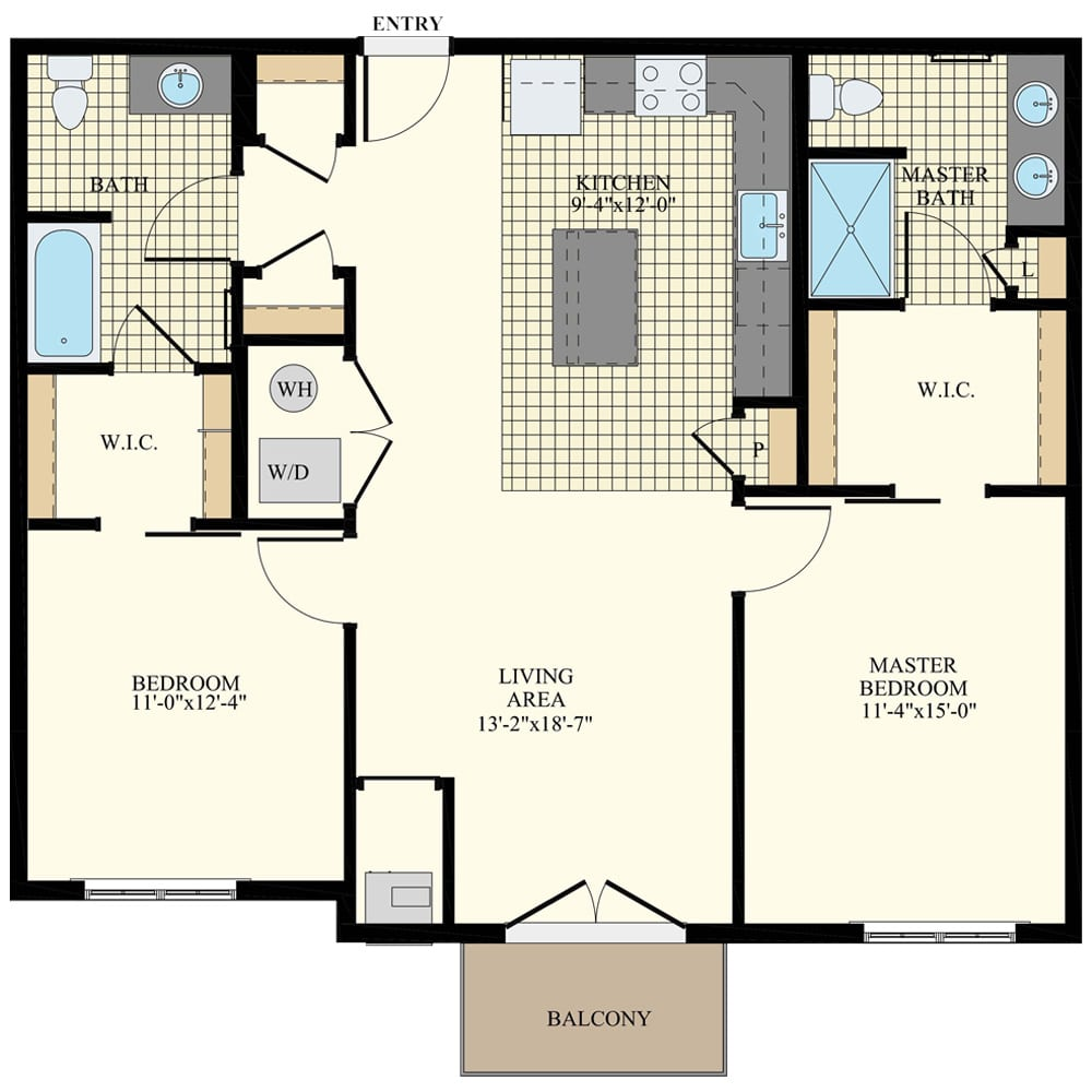 Station at Willow Grove 2 Bedroom Apartment B4