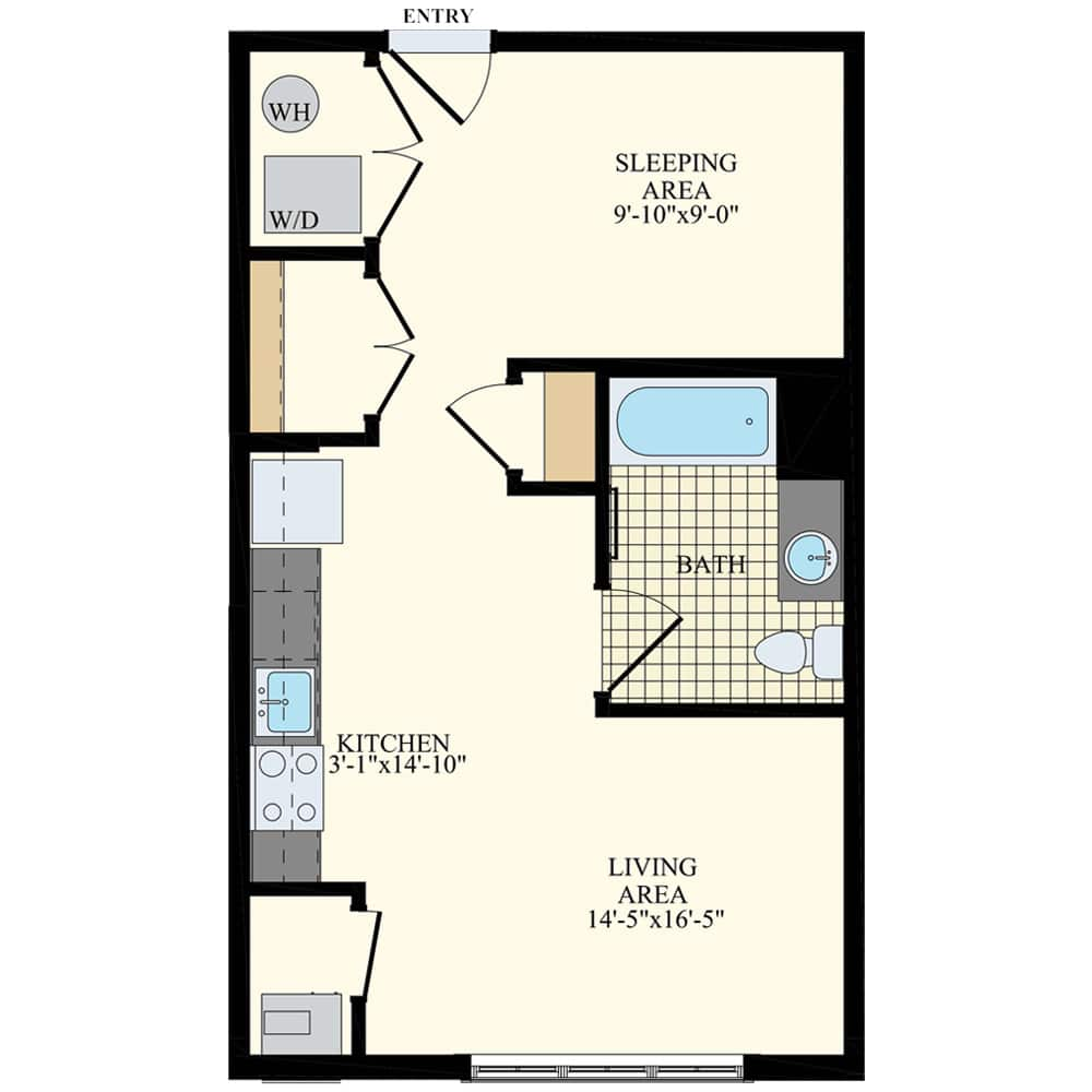 Station at Willow Grove Studio Apartment S1