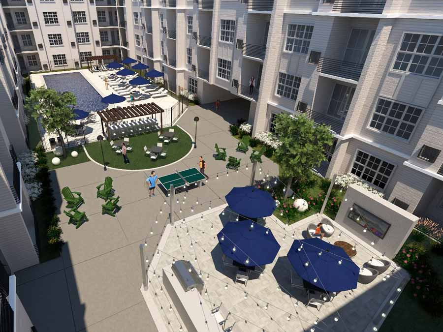Station at Willow Grove offers a luxurious outdoor lounge and swimming pool