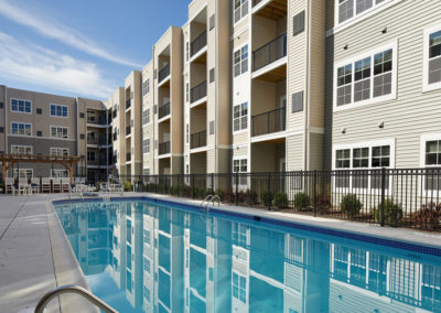 Apartments in Willow Grove with a resort-style swimming pool