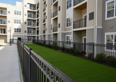 Fenced dog park for pet-friendly Willow Grove apartments